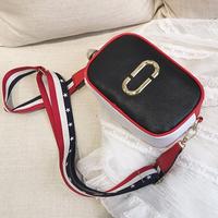 Túi da khuy kim loại - T500