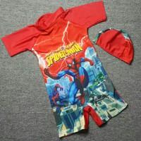 Đồ bơi spider man nhện phóng tơ dễ thương cho bé