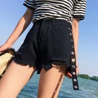 quần short jeans rách gấu viền khoen Mã: QN793