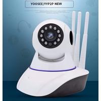 Camera wifi 3 Anten xoay 360 Yoosee Pro 8800HD Siêu wifi