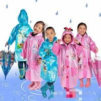 Áo mưa hình ngộ nghĩnh cho bé yêu