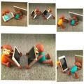 Giá đỡ điện thoại hình khỉ
