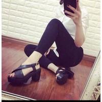 Giày sandal cao gót nũ cực chất
