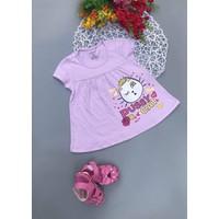 Combo 3 Đầm cotton bé gái