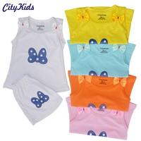 SET 5 Bộ quần áo trẻ em in hình con bướm CTKS03 - 5 màu