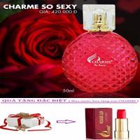 Nước Hoa Nữ Charme So Sexy 50ml + Tặng Kèm Son Charme