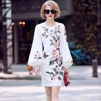Đầm suông nữ hoạ tiết hoa cực đẹp
