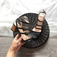 Giày sandal cao gót cực chất