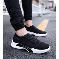 Giày thể thao nam Sneaker thoáng khí G19 - Đen