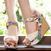 giày sandan đế xuồng