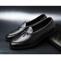 Giày lười nam Hàn Quốc da bò L134