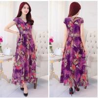 Đầm maxi hoa 01327