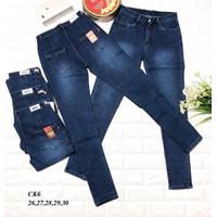 quần jean lưng cao ck6