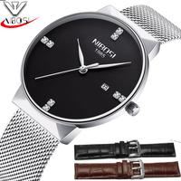 đồng hồ kim siêu mỏng nibosi