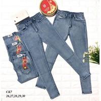 quần jean lưng cao ck7