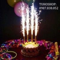 Nến phụt sinh nhật bán cả túi
