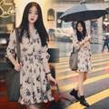 Đầm Voan Cổ Điển Hàn Quốc