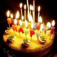 Bộ nến sinh nhật chữ Happy birthday