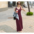 Váy đầm thun dáng xòe dài  trẻ trung cuốn hút  – VTX28