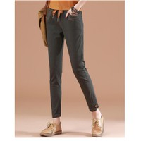 quần kaki lưng thun TB0523 kaki - XL - xanh rêu