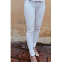 Quần legging Skinny rách xước nữ thời trang trẻ cá tính