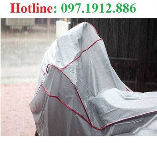 Bạt phủ xe máy chống nắng mưa -2