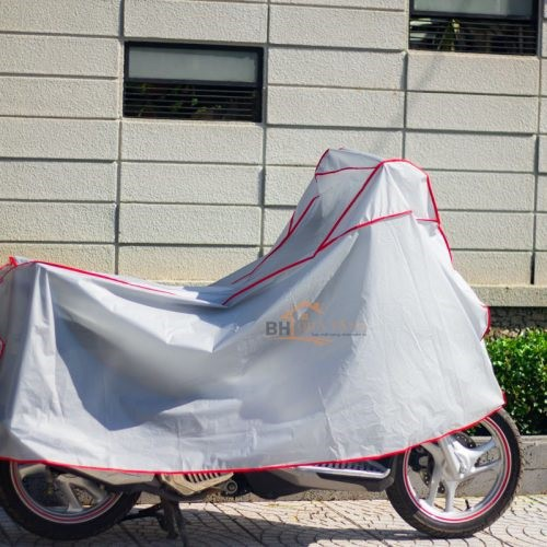 Bạt phủ xe máy chống nắng mưa -5