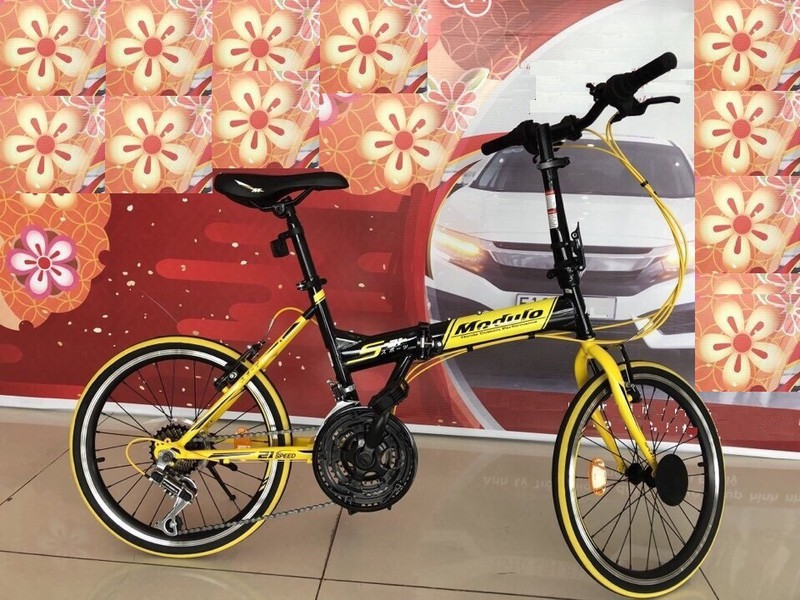 Xe đạp gấp Honda Modulo HOT - 1