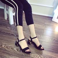 Giày sandal cao gót nữ cực chất