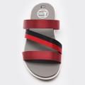 Dép sandal Nam quai ngang -đỏ