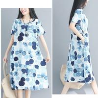 Đầm suông form rộng 2D0715