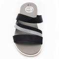 Dép sandal Nam quai ngang - Đen Xám