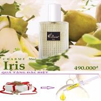 Nước Hoa Nam Charme Iris 50ml + Tặng Kèm Ống Tế Bào Gốc Charme