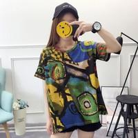 áo thun nữ họa tiết màu sắc Mã: AX3610 - XANH LÁ