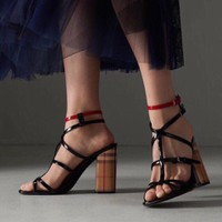 Giày sandal cao gót nữ cao sang