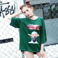 áo thun oversize thinkin about you Mã: AX3224 - XANH LÁ