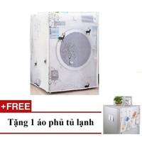 Combo Áo trùm máy giặt cửa trước  + Tặng áo phủ tủ lạnh