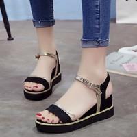 Sandal nữ đế xuồng 6cm