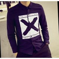 áo sơ mi nam resistance Mã: NM619 - XANH