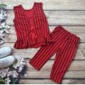 ĐỒ BỘ bé gái mặc nhà sọc xinh mùa hè hàng vnxk