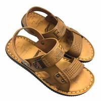 Giày sandal nam da bò thật đế khâu chắc chắn AD32N