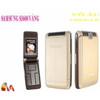 SAMSUNG S3600 MÀU VÀNG