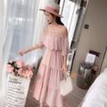 Đầm Maxi Phối Ren Cực Chất shop đã hết màu trắng