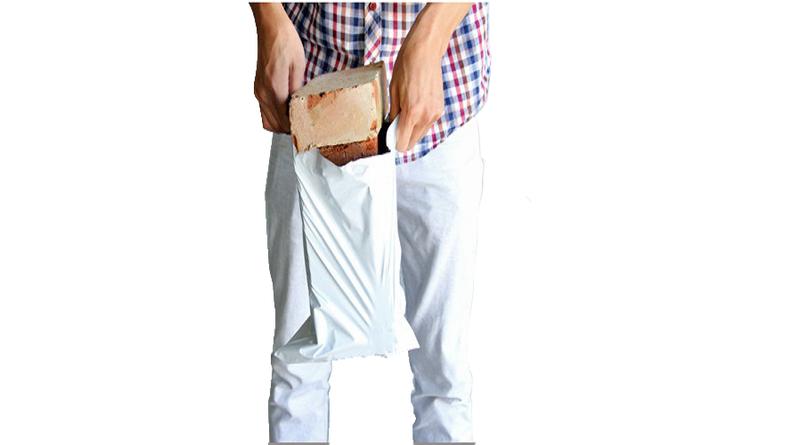 Túi gói hàng chuyên dụng 20x35cm Đen, Trắng, Hồng, Xanh