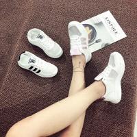 giày bata sọc trắng