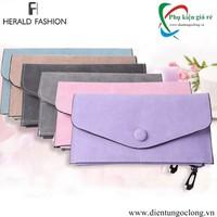Ví Cầm Tay Nữ Herald Fashion Da Pu Cao Cấp