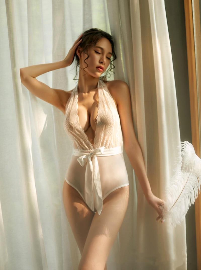 Váy ngủ body ren gợi cảm nữ