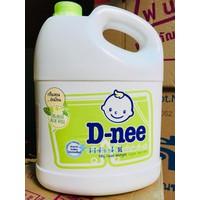 Nước Giặt Xả Dnee Organic - Xanh lá - 3000ml - Thái Lan