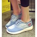 giày thể thao jeans rách Mã: GT0029 - XANH NHẠT