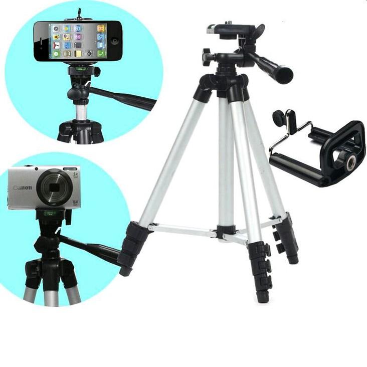 Bộ giá đỡ điện thoại, máy ảnh 3 chân tripod = 60.570 ₫